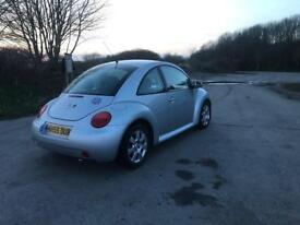 VW Beetle 1.6 silver 2005 / 2006