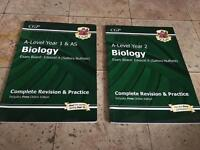 New specification A-Level Biology revision books