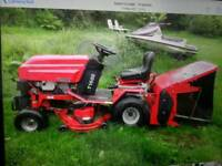 Westwood t 1600 twin ride on lawnmower
