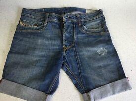 Ladies diesel timmen Shorts size W30
