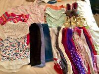 Mixed Baby Girl Items - John Rocha 6-9 months - Includes NEXT Sleeping Bag