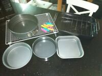 Selection of baking items
