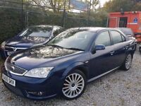 55 REG FORD MONDEO ST 155 BHP VERY VERY LOW MILES AT 87K PULLS LIKE A TRAIN IN ALL GEARS