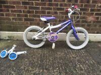 """Kids bike 16"""" with stabilizers"""