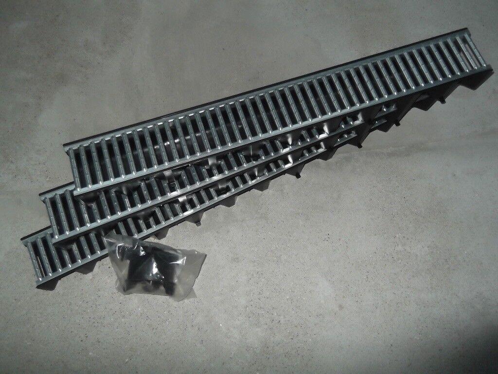 CHANNEL DRAINAGE GARAGE KIT ACO HEXDRAIN 3m LONG
