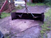yard scraper in great condition