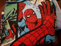 Spiderman and Marvel double bedding