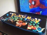 'TVCade' - Portable Retro Arcade Machine - Plug into any TV - Customise your design