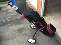 Wilson golf clubs set + lots of extras