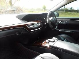 Mercedes-Benz S Class S63L [544] 4dr Auto (£19,000 OF UPGRADES! +) (black) 2012