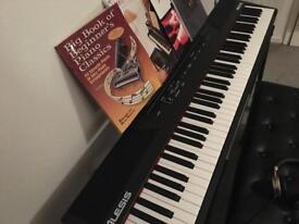 Alesis recital 88 key digital piano bundle