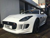 Jaguar F-Type 5.0 V8 S Quickshift 2dr ONLY 13622 GENUINE MILES