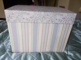 Crafting storage box