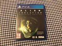 ALIEN ISOLATION Nostromo edition PS4 Game