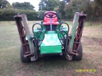 RANSOMES HIGHWAY GANG MOWER
