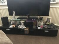 Large tv stand will fit large tv