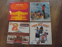 4 Children's Party Vinyl Records