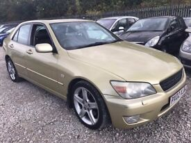 Lexus IS 200 2.0 SE Saloon 4dr Petrol Automatic, LONG MOT. HPI CLEAR. SUNROOF. P/X POSS