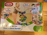Little tikes stand n dance starfish BNIB