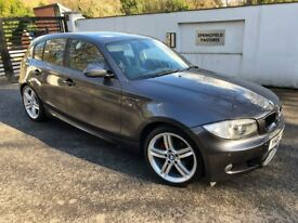 BMW 1 Series 116i M Sport 5dr 2008 full MOT