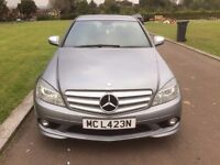 2007 (57) MERCEDES C320 CDI DIESEL. SPORTS. AMG. FACELIFT SHAPE. PADDLE SHIFT, VERY QUICK, S/H A/C