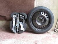 SPARE WHEEL, SPACE SAVER, FOR NISSAN NOTE 2014-
