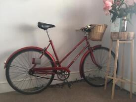 Ladies Red 1960's Bicycle