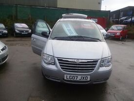 Chrysler GRAND VOYAGER LTD XS Auto,2776 cc MPV,full leather interior,Sat Nav,tow bar fitted,LG07JXO