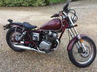 1987 Honda Rebel 250 Bobber Custom Chop....23000 miles....1 Year only colour...rare bike