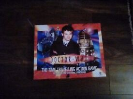 Dr Who time travelling board game. Used.