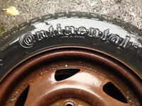 tyres for sale, 2x 155/70/13 and 1 x 165/70/13