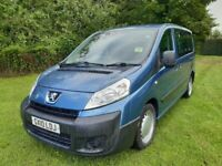 ONLY 88K MILES PEUGEOT EXPERT TEPEE WHEELCHAIR RAMP DISABILITY