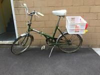 Dawes 1974 kingpin folding bike vintage