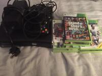 Xbox 360 S 250GB Console with 7 games. MINT CONDITION!!