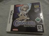 CASTLEVANIA DAWN OF SORROW NINTENDO DS / COMPLETE MINT & POSTER / PAY-PAL / SECURE POSTAGE.