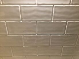 Cream Brick Style Wall Tiles 5.25 sq meter coverage
