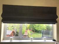 Faux Suede Grey Roman Blind (new)
