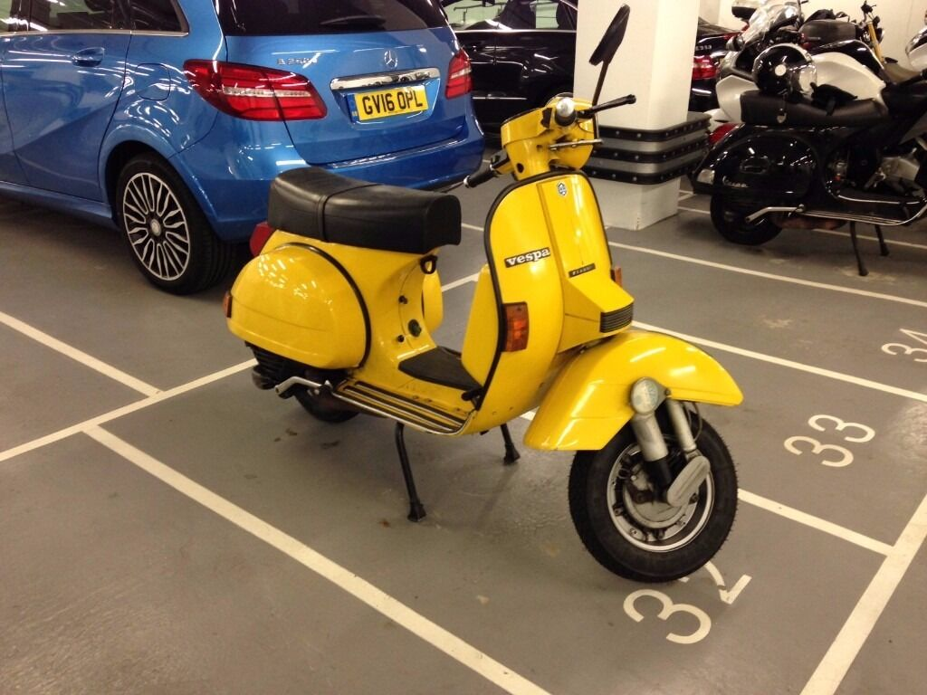 vespa px 200 douglas 1989 collectable vintage in tower hamlets london gumtree. Black Bedroom Furniture Sets. Home Design Ideas