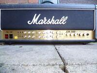 Marshall valve amp