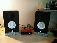 Yamaha HS7 Pair of Studio Monitor Speakers