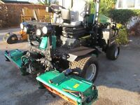 RANSOMES GRASS CUTTING RIDE ON MOWER FOR LARGE GARDENS