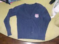 Churston Ferrers school cardigan size M
