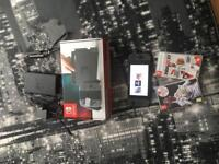 Nintendo Switch Black + 2 Games MINT CONDITION
