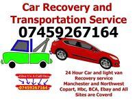 Car Recovery Service, Car breakdown, Manchester, Blackburn, Bolton, Bury, Preston & All over the UK