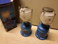 Two camping gaz lights