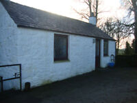 1 bedroom farm cottage .10 miles from dumfries .7 miles from C,D