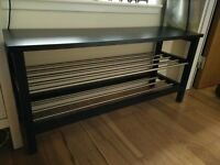 Bench with Shoe storage rails by IKEA (Tjusig)