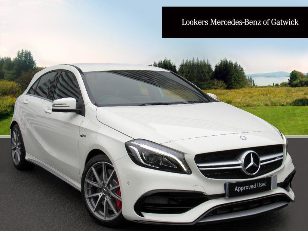 mercedes benz a class a45 amg 4matic 2017 01 30 in crawley west sussex gumtree. Black Bedroom Furniture Sets. Home Design Ideas