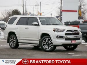 2016 Toyota 4Runner Limited, 4x4, Off Lease, 5 Seater, In White!