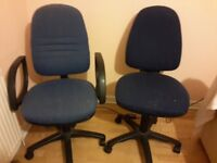 Office Computer chairs - 2 numbers